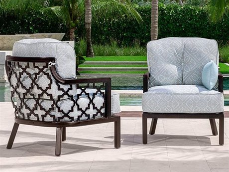 Castelle Belle Epoque Deep Seating Cast Aluminum Lounge Set