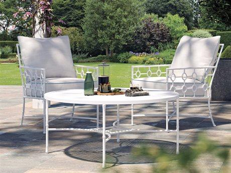 Castelle Barclay Butera Savannah Deep Seating Aluminum Lounge Set