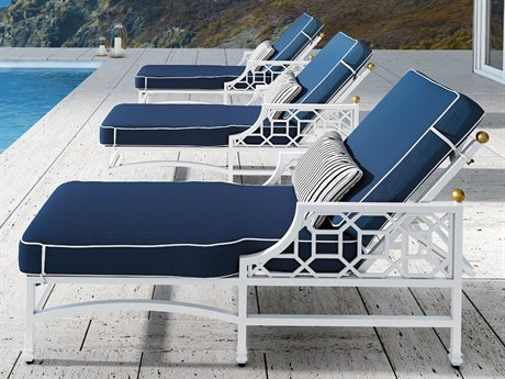 Castelle Barclay Cushion Aluminum Lounge Set