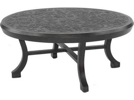 Castelle Chateau Cast Aluminum 44 Round Coffee Table