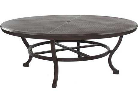 Castelle Chateau Cast Aluminum 78 Round Dining Table Ready to Assemble