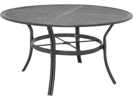 Castelle Resort Fusion Aluminum 54''Wide Round Dining Table PatioLiving