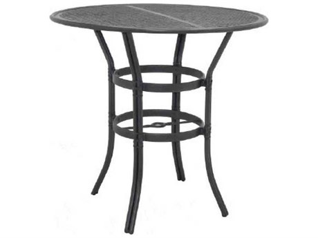 Castelle Resort Fusion Aluminum 42''Wide Round Bar Height Table