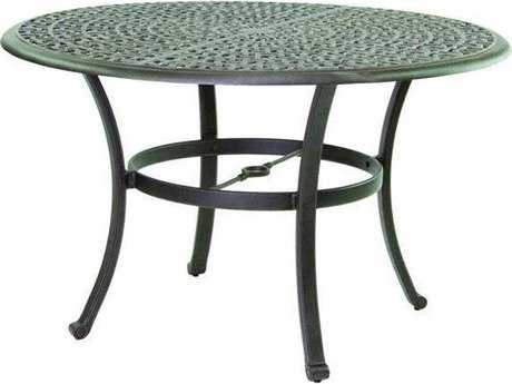 Castelle Sienna Cast Aluminum 48 Round Dining Table Ready to Assemble