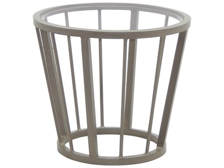 Castelle Avenue Aluminum 20''Wide Round Side Table