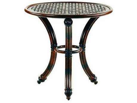 Castelle Coco Isle Cast Aluminum 24 - 26 Round Occasional Table