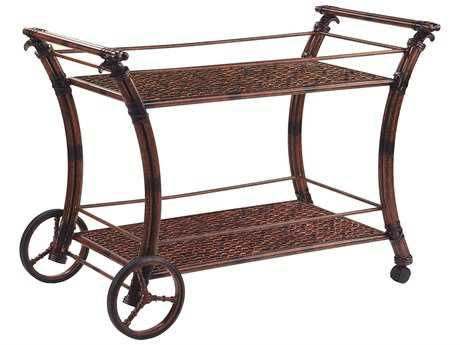 Castelle Coco Isle cAST Aluminum 47 x 22 Serving Cart