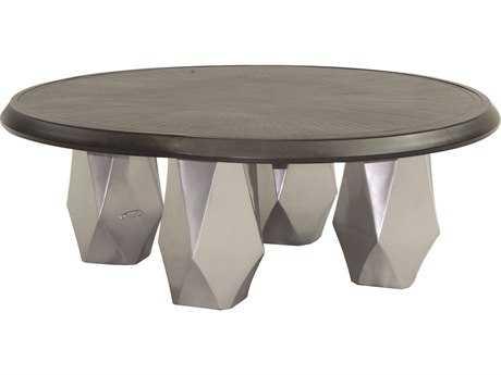 Castelle Arcadia Aluminum 42 Round Coffee Table