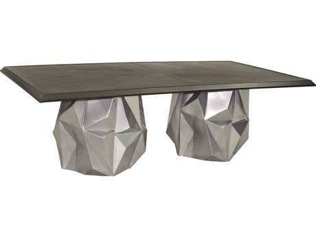 Castelle Arcadia Aluminum 84 Rectangular Dining Table