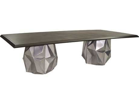 Castelle Arcadia Aluminum 108 x 54 Rectangular  Dining Table