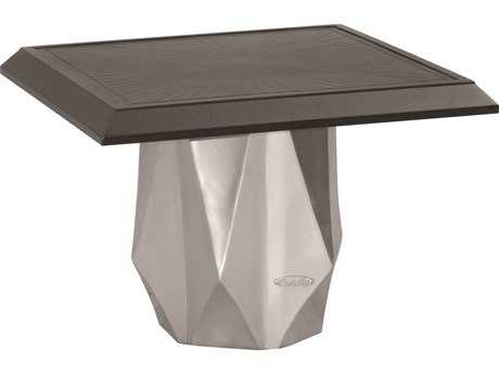 Castelle Arcadia Aluminum 20 Square Side Table