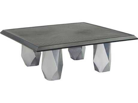 Castelle Arcadia Aluminum 44 Square Coffee Table
