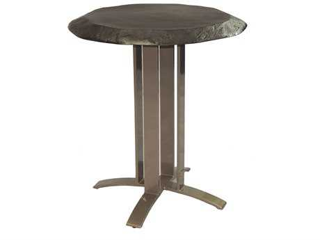 Castelle Moderna Cast Aluminum 28 Round Dining Table