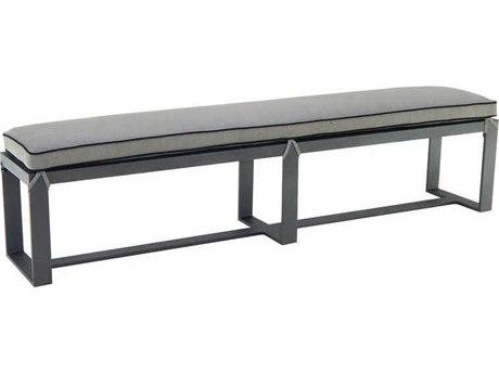 Castelle Moderna Cast Aluminum Bench
