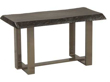 Castelle Moderna Cast Aluminum 34.5''W x 18''D Rectangular Coffee Table