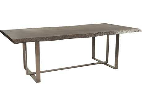 Castelle Moderna Cast Aluminum 84 x 42 Rectangular Dining Table