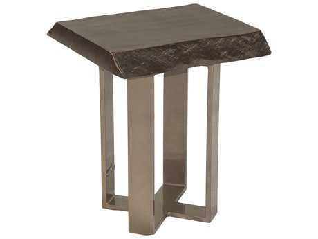 Castelle Moderna Cast Aluminum 16 Square Side Table