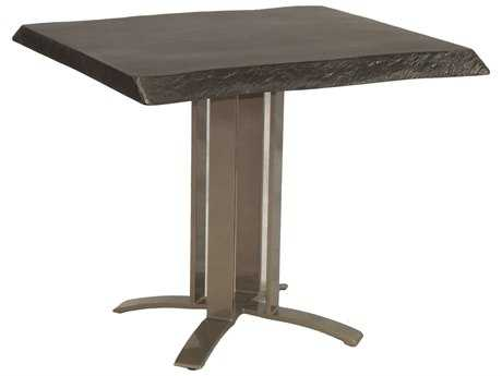 Castelle Moderna Cast Aluminum 32 Square Dining Table