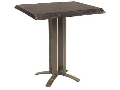 Castelle Moderna Cast Aluminum 32 Square Counter Table