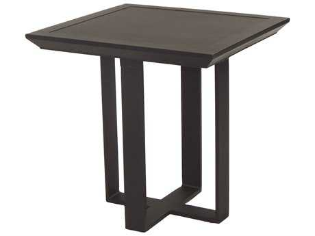 Castelle Moderna Cast Aluminum 20W - 23.5W Square Side Table