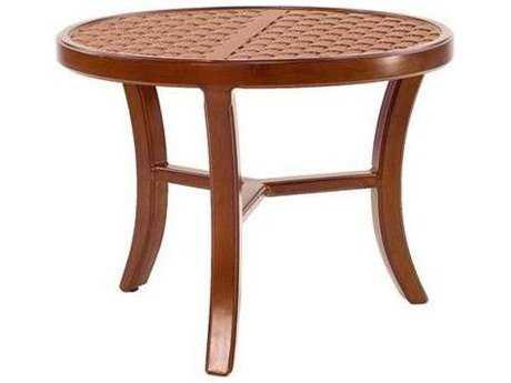 Castelle Heritage Aluminum 24 - 26 Round Occasional Table