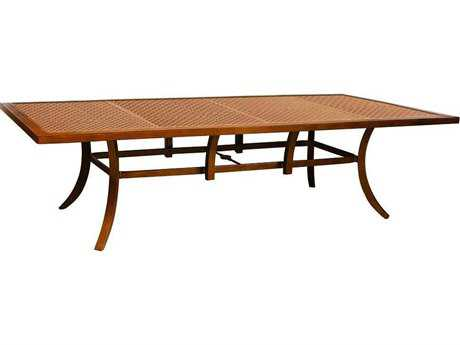 Castelle Heritage Aluminum 108 x 54 Rectangular Dining Table Ready To Assemble