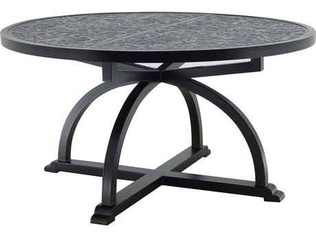 Castelle Arches Aluminum 54 - 56 Round Dining Table
