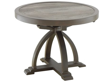 Castelle Arches Aluminum 24 - 26 Round Occasional Table