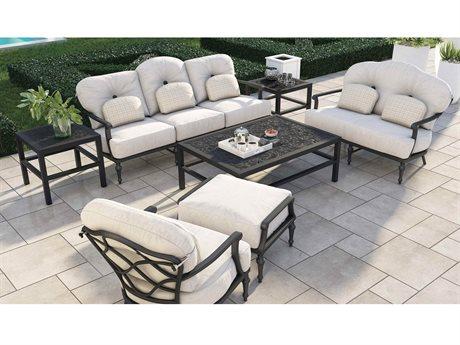 Castelle Madeleine Deep Seating Aluminum Lounge Set