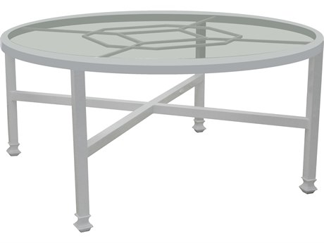 Castelle Barclay Butera Aluminum 54 - 57.5 Round Dining Table PFQCD54