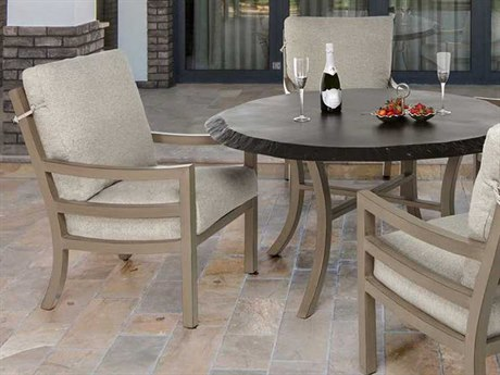 Castelle Roma Cushion Dining Aluminum Casual  Set