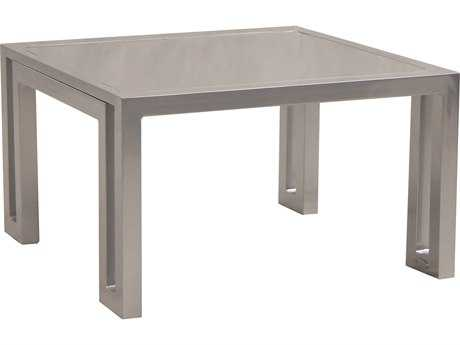 Castelle Icon Cast Aluminum 32 Square Coffee Table