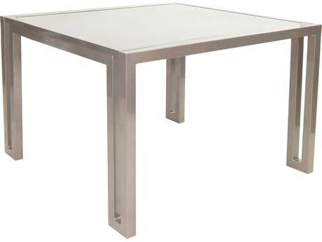 Castelle Icon Cast Aluminum 44 Square Dining Table