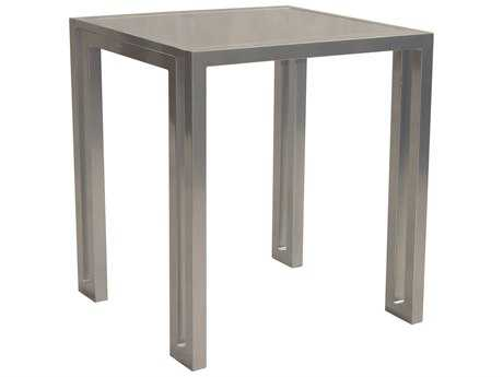 Castelle Icon Cast Aluminum 32 Square Bar Height Table