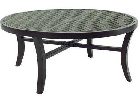 Castelle Classical Cast Aluminum 42- 44 Round Coffee Table
