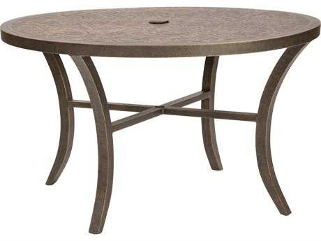 Castelle Classical Cast Aluminum 48 - 49 Round Dining Table