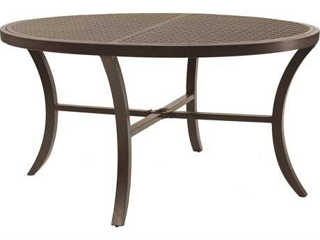 Castelle Classical Cast Aluminum 54 Round Dining Table
