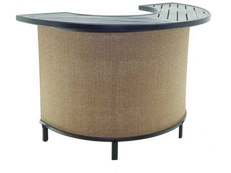 Castelle Classical Cast Aluminum 63 x 39 Semi Circular Bar