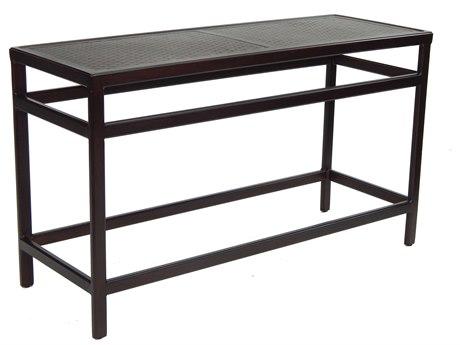 Castelle Classical Cast Aluminum 54-56W x 18-20D Rectangular Console Table