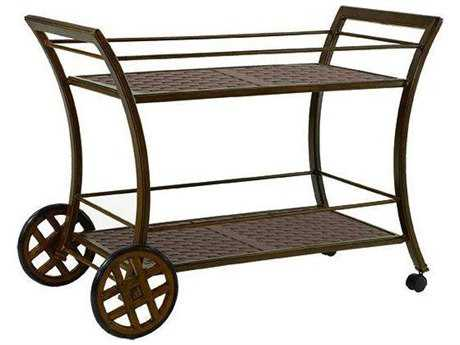 Castelle Classic Cast Aluminum 46 x 25 Serving Cart