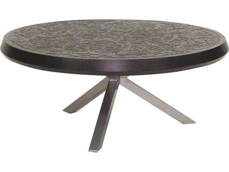 Castelle Altra Cast Aluminum 44 Round Coffee Table