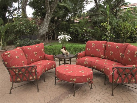 Castelle Veranda Deep Seating Cast Aluminum Lounge Set