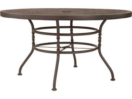 Castelle Bordeaux Cast Aluminum 54 Round Dining Table PatioLiving
