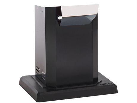 PGS A Series Black Powder Coated Pedestal