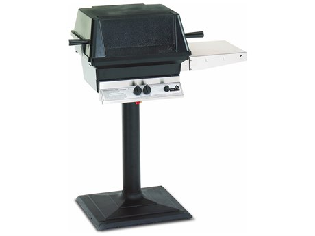 PGS A Series Black 24 Inch Post And Base Kit for A Series Grills