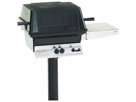 PGS A Series Black Permanent Post Mounting Option For A30 Or A40 Grills.