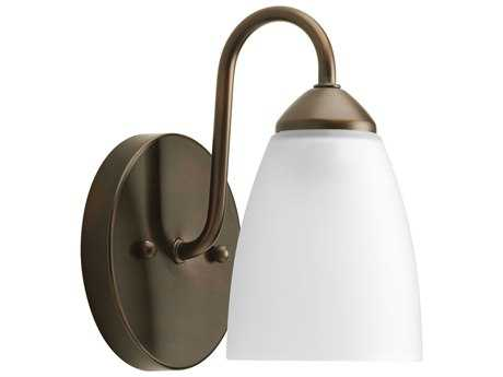 Progress Lighting Gather Antique Bronze Fluorescent Wall Sconce (Sold in 3)