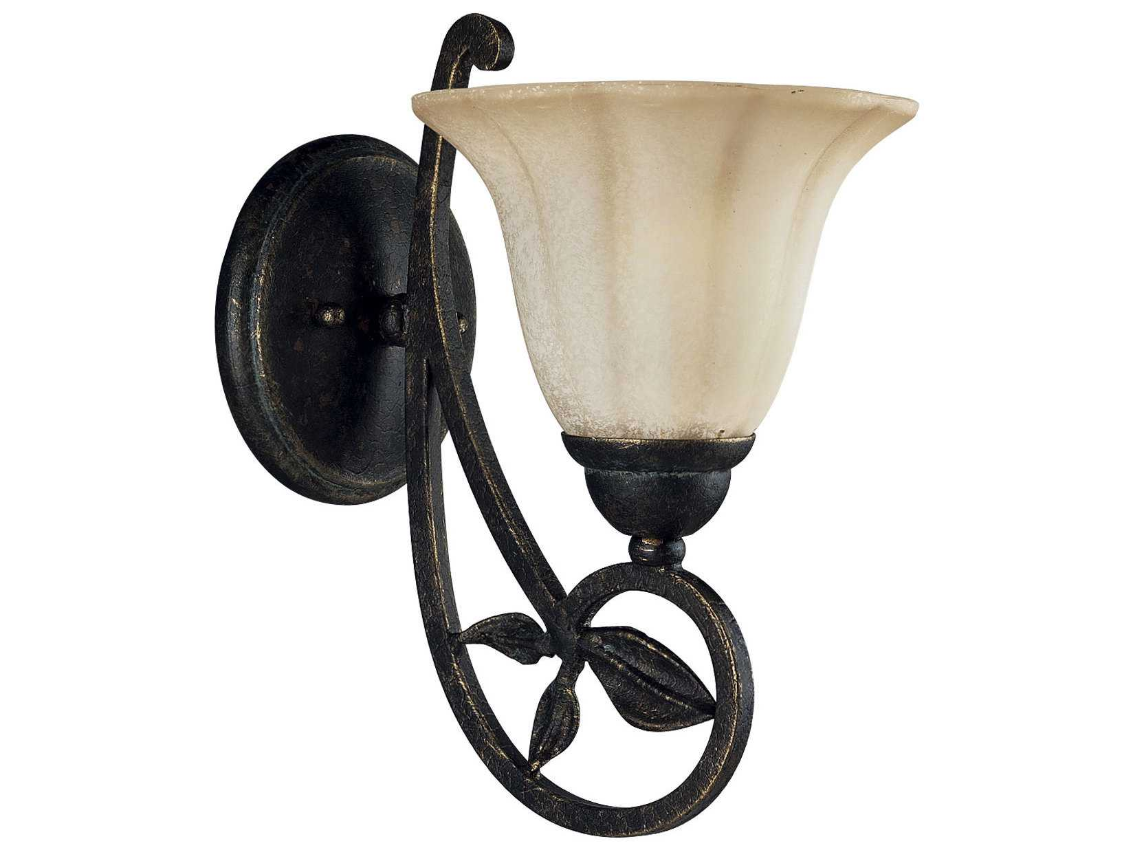 Jardin Wall Lights : Progress Lighting Le Jardin Espresso Wall Sconce PGLP301284