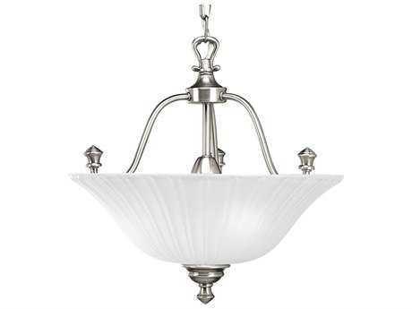 Progress Lighting Renovations Antique Nickel Three-Light Pendant