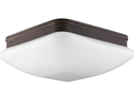 Progress Lighting Appeal Antique Bronze Three-Light 13'' Wide Flush Mount Light (Sold in 2)